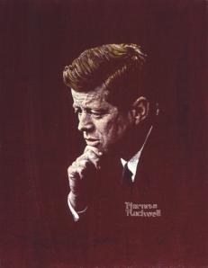 Norman Rockwell, Portrait of John F. Kennedy