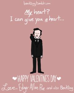 Ben King's nerdy Valentine