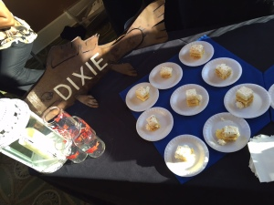 """Dixie Fish Co. brought a Piña Colada Cake. Their chef, Rick Trent III (or BB, as I know him), wanted something that """"tasted like summer."""""""